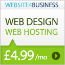 Cheap reliable web hosting from Website 4 Business